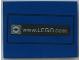 Part No: 4515pb017  Name: Slope 10 6 x 8 with www.LEGO.com Pattern (Sticker) - Set 3432
