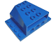 Part No: 45407  Name: Vehicle, Engine Block 4 x 6 x 2 with Wedge Cutouts and Technic Holes