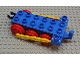 Part No: 4580c01  Name: Duplo, Train Steam Engine Chassis with Yellow Drive Rod