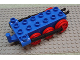 Part No: 4580c02  Name: Duplo, Train Steam Engine Chassis with Black Drive Rod