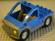 Part No: 47438c01  Name: Duplo Truck Pickup Flatbed with Dark Bluish Gray Base