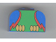 Part No: 4744pb04  Name: Brick, Modified 2 x 4 x 2 Double Curved Top with Parrot Body Pattern