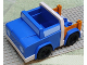 Part No: 48033c01  Name: Duplo Truck Pickup with White Bumpers and Earth Orange Bed Sides (7331)