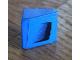 Part No: 54200pb063L  Name: Slope 30 1 x 1 x 2/3 with Black Air Intake on Blue Background Pattern Model Left Side (Sticker) - Set 8151