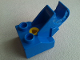 Part No: 6285c01  Name: Duplo, Toolo Brick 2 x 2 with Angled Bracket with Clip and Screw