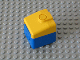 Part No: 6409c01  Name: Duplo, Train Locomotive Cabin Nose with Yellow Top