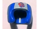 Part No: 96204pb01  Name: Minifigure, Headgear Helmet Boxing with Team GB Logo Pattern