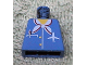 Part No: 973pb0031  Name: Torso Airplane Crew Female, Pocket, Pen, Scarf and Logo Pattern