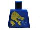 Part No: 973pb0836  Name: Torso Ninjago Gold Dragon Front and Gold Lion and 'JAY' Back Pattern