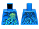 Part No: 973pb1253  Name: Torso Ninjago Lightning Energy Pattern (NRG Jay)