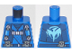 Part No: 973pb3307  Name: Torso Ninjago Robe with Straps and Pouches, Dragon Logo on Back Pattern