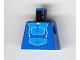 Part No: 973px2  Name: Torso Blue Jogging Suit Pattern