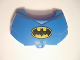 Part No: 98603pb002  Name: Large Figure Chest Armor Small with Batman Logo Pattern