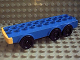 Part No: dup005  Name: Duplo Truck Base with Six Wheels and 2 x 10 Studs
