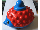Part No: pri019c01  Name: Primo Animal Hedgehog on Wheels, Red Spines