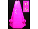 Part No: 33215pb02  Name: Tower Roof 6 x 8 x 9 with 2 Butterflies Pattern (Stickers) - Set 7582