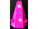 Part No: 33215pb03  Name: Tower Roof 6 x 8 x 9 with Snowflakes Pattern on Front (Stickers) - Set 7581