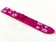 Part No: 90509pb01  Name: Minifigure, Utensil Ski 6L with White Snowflakes Pattern