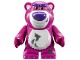 Part No: lotso2  Name: Bear, Toy Story with Dirt Pattern (Lotso) - Complete Assembly