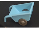 Part No: 2292c05  Name: Duplo Wheelbarrow with Dark Gray Wheels