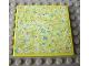 Part No: 6881pb02  Name: Scala Tile 6 x 6 with Floral Doormat Pattern (Sticker) - Set 3118