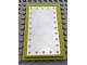 Part No: 6953pb07  Name: Scala Wall, Panel 6 x 10 with Mirror with Lights Pattern (Sticker) - Sets 3242 / 3118