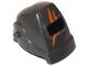 Part No: 13792pb02  Name: Minifigure, Headgear Helmet Welding with Orange Claw Marks Pattern