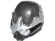 Part No: 13812pb01  Name: Minifigure, Headgear Helmet Space with Breathing Mask and Black and Silver Markings Pattern