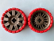 Part No: 47349c02  Name: Wheel 72 x 34 with Red Tire 94 x 40 Balloon Offset Tread
