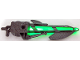 Part No: 55825c01  Name: Bionicle Weapon Inika Light-up Laser Harpoon (8728)