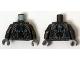 Part No: 973pb1925c01  Name: Torso Armor Robot with Blue and Light Bluish Gray Pattern / Pearl Dark Gray Arms / Dark Bluish Gray Hands