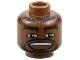 Part No: 3626bpb0139  Name: Minifigure, Head NBA Gary Payton Pattern - Blocked Open Stud