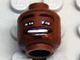 Part No: 3626bpb0154  Name: Minifigure, Head NBA Antoine Walker Pattern - Blocked Open Stud