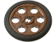 Part No: 4185c01  Name: Technic Wedge Belt Wheel (Pulley) with Black Technic Wedge Belt Wheel Tire (4185 / 2815)
