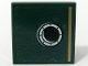 Part No: 3068bpb0667  Name: Tile 2 x 2 with Gold Stripe and Porthole Pattern Model Right, Right Panel (Sticker) - Set 10194