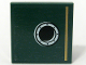 Part No: 3068bpb0669  Name: Tile 2 x 2 with Gold Stripe and Porthole Pattern Model Left, Right Panel (Sticker) - Set 10194