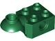 Part No: 48170  Name: Technic, Brick Modified 2 x 2 with Pin Hole, Rotation Joint Ball Half (Horizontal Top)
