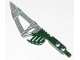 Part No: 50935pb01  Name: Bionicle Weapon Hordika Fang Blade with Flat Silver Flexible End