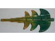Part No: 51874pb03  Name: Dragon Tail Barbed with Marbled Metallic Gold Pattern