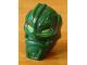 Part No: x1823px1  Name: Minifigure, Head Modified Bionicle Inika Toa Kongu with Lime Eyes Pattern