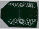 Part No: x224pb022R  Name: Windscreen 8 x 6 x 2 Curved with Atlantis Logo and Fish Scales Pattern Model Right Side (Stickers) - Set 7978