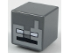 Part No: 19729pb024  Name: Minifigure, Head Modified Cube with Minecraft Stray Pattern