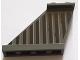 Part No: 2340pb067L  Name: Tail 4 x 1 x 3 with Dark Bluish Gray and Dark Brown Vertical Stripes Pattern on Left Side (Sticker) - Set 75144