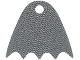 Part No: 25514  Name: Minifigure, Cape Cloth, Scalloped 5 Points with Single Top Hole (Batman) - Traditional Starched Fabric
