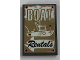 Part No: 26603pb018  Name: Tile 2 x 3 with 'BOAT Rentals' Pattern (Sticker) - Set 21310