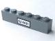 Part No: 3009pb162  Name: Brick 1 x 6 with 'SJ 4431' on White Background Pattern (Sticker) - Set 4431