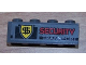Part No: 3010pb085  Name: Brick 1 x 4 with 'SECURITY TRANSPORT' Pattern (Sticker) - Set 8199