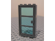 Part No: 30179c06  Name: Door Frame 1 x 4 x 6 with Dark Bluish Gray Door with Trans-Light Blue Glass