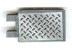 Part No: 30350pb009  Name: Tile, Modified 2 x 3 with 2 Clips with Tread Plate Pattern (Sticker) - 8134