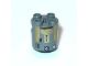Part No: 30361pb012  Name: Brick, Round 2 x 2 x 2 Robot Body with Metallic Gold Pattern (R8-B7)